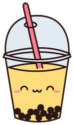 Transparent tea boba. By crysanity on deviantart