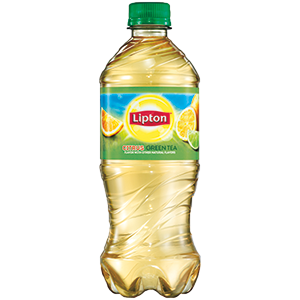Transparent tea lipton. Green w citrus oz