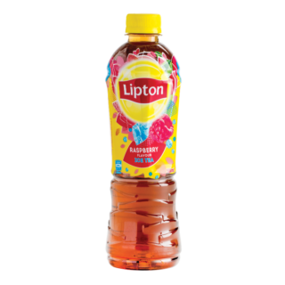 Transparent tea lipton. Raspberry ice oliana foods