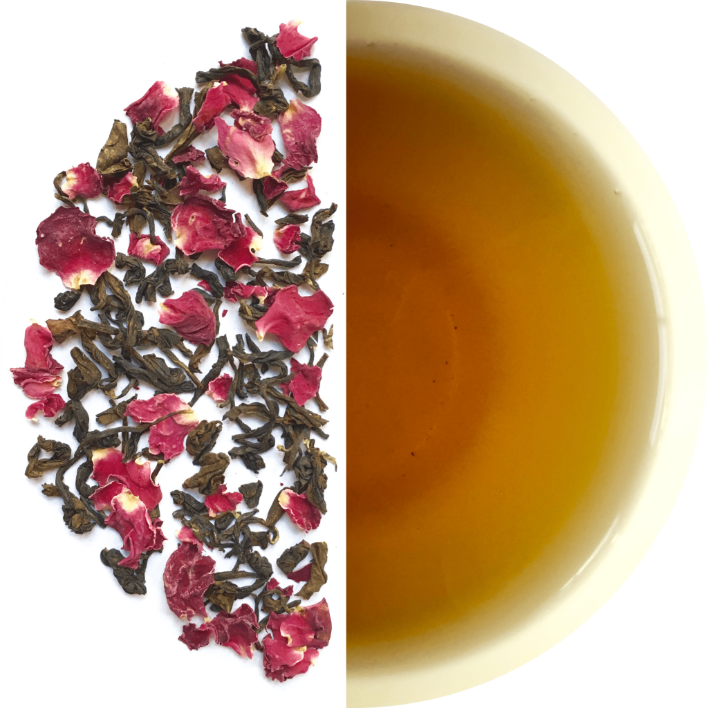 Transparent tea oolong. Rose packet gms namhah