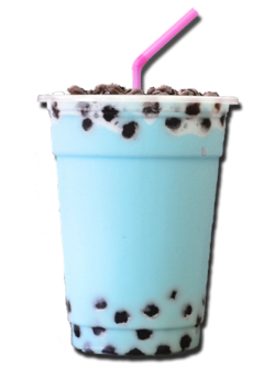 Transparent tea boba. Milk tumblr bubble teapearlstransparent