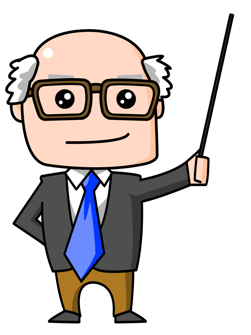 Transparent teacher animated. Download free png image