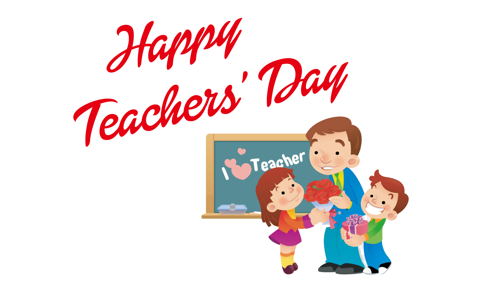 Transparent teacher teacher's day. Happy teachers png hd