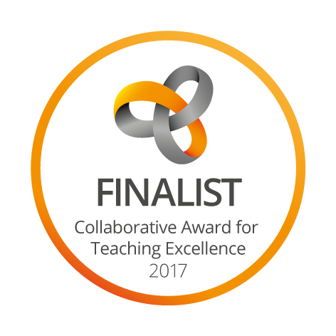Transparent teacher lecturer. Collaborative awards for teaching