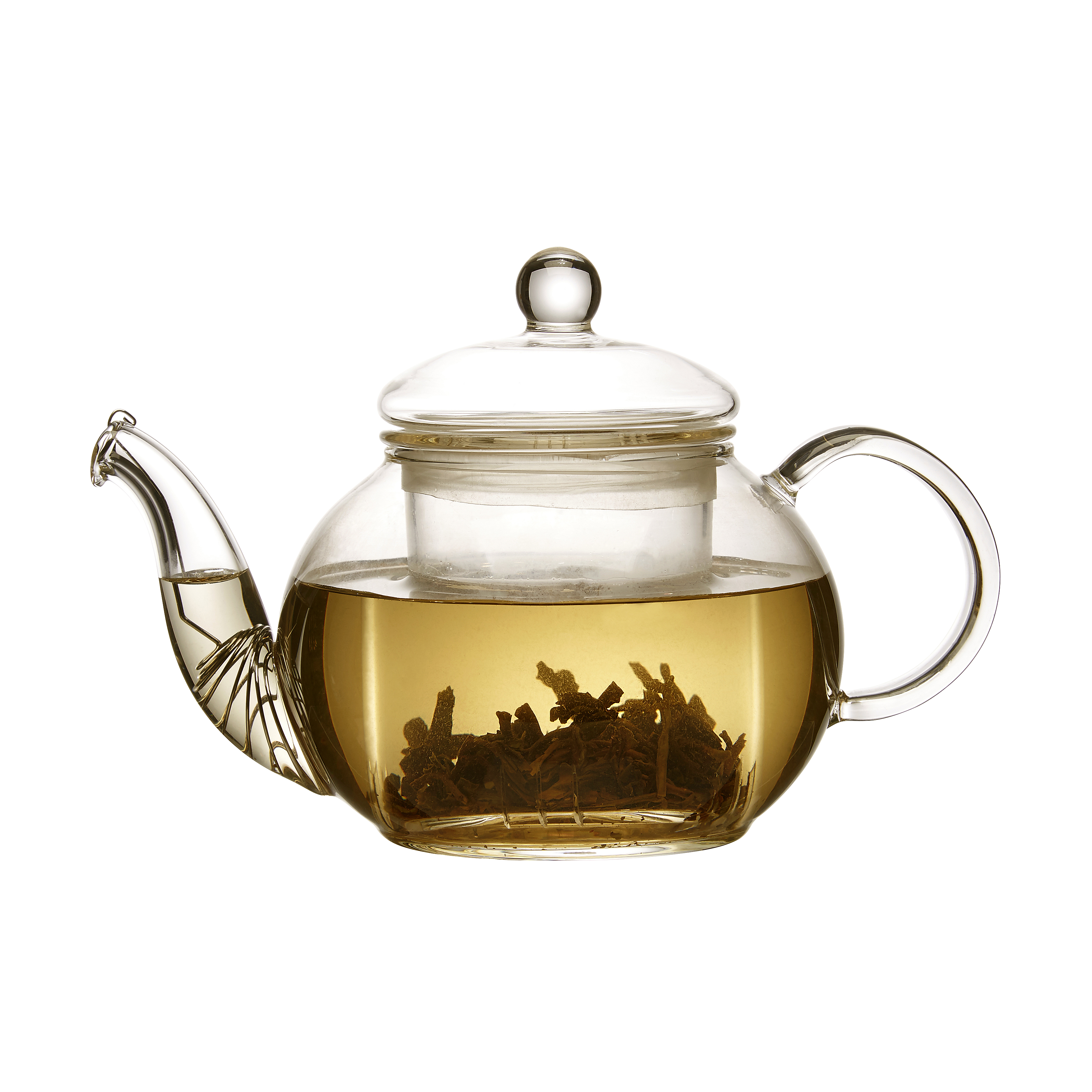 Transparent teapot luxury glass. This classic is perfect