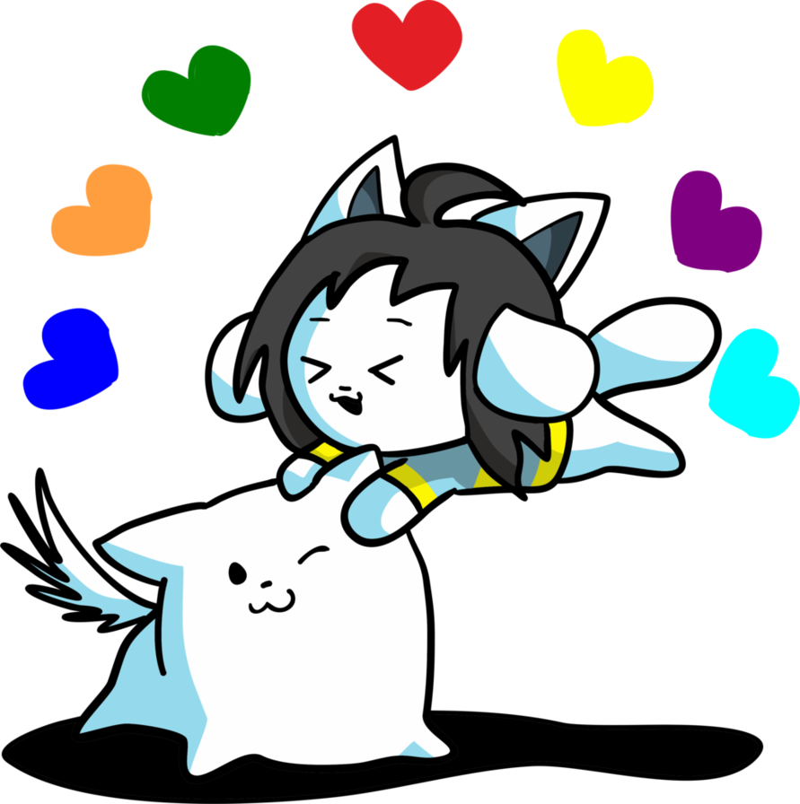 Transparent temmie flakes. Toby and by ilovegir