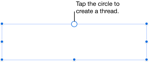 Transparent textbox empty. Pages for iphone link