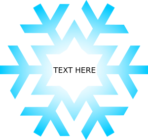 Transparent textbox winter. Html creating a snowflake