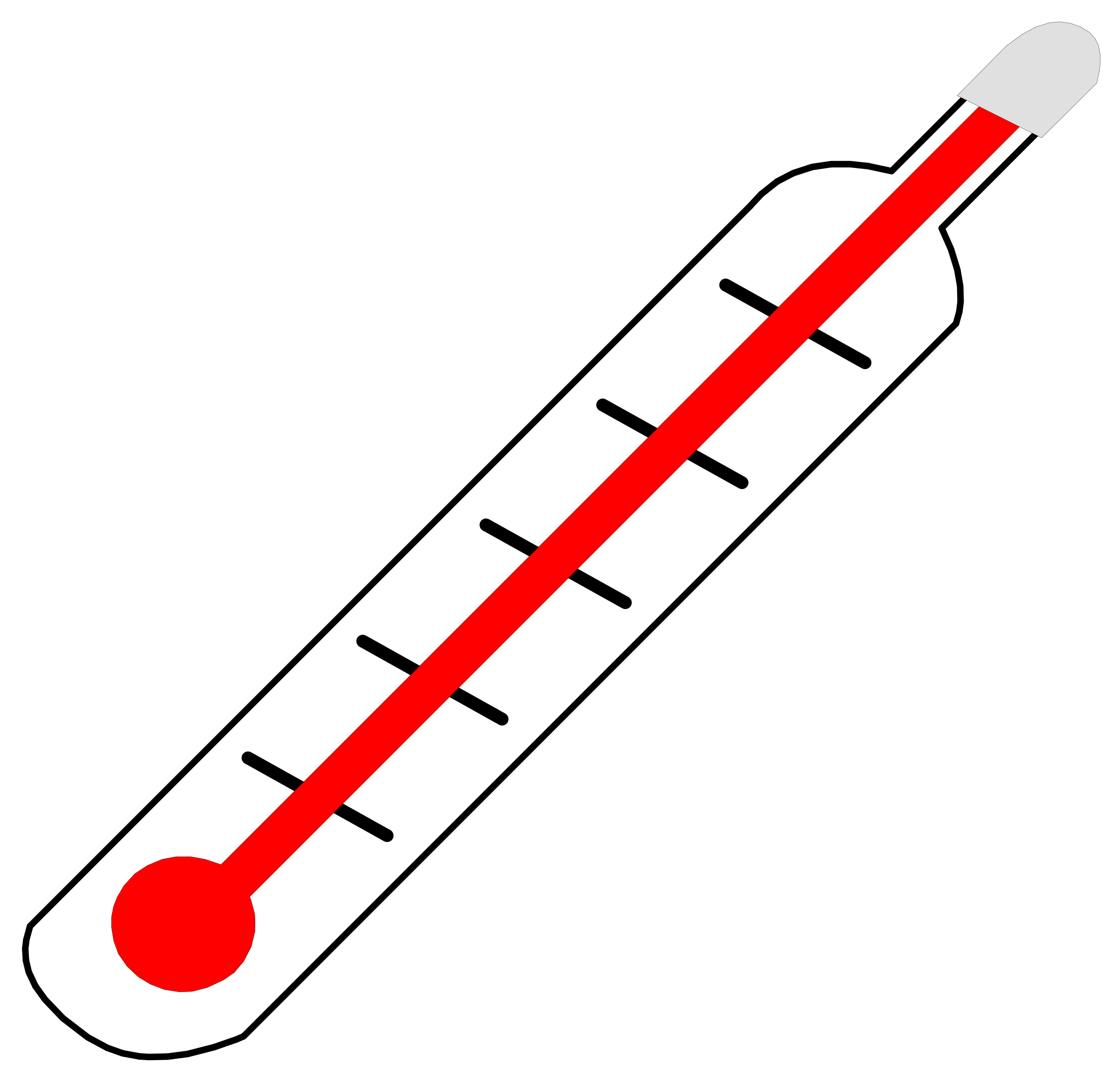 Transparent thermometer background. Free freezing cliparts download