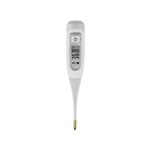 Transparent thermometer fever. Microlife ag digital