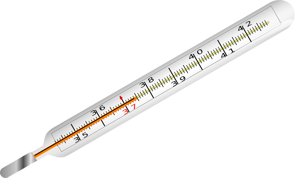 Transparent thermometer mercury. Europe industry analysis and
