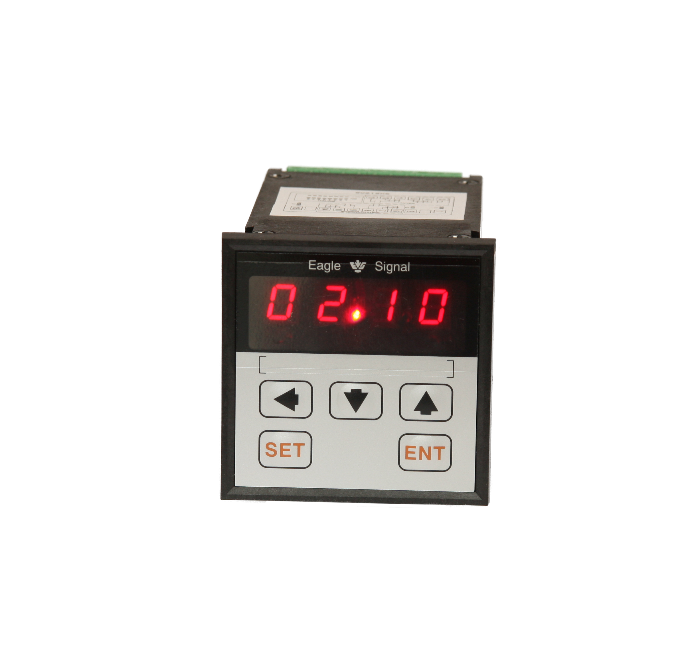 Transparent timer. Eagle signal electronic timers