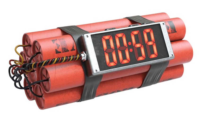 Timer transparent bomb. Time png free images