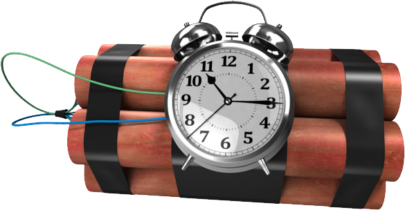Transparent Timer Bomb Transparent & PNG Clipart Free Download - YA