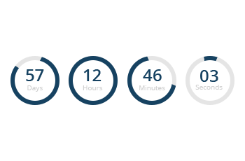Timer transparent countdown. Ultimate pro wp online