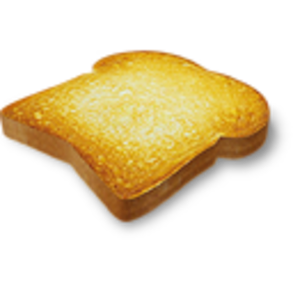 Transparent toast. Svg library stock