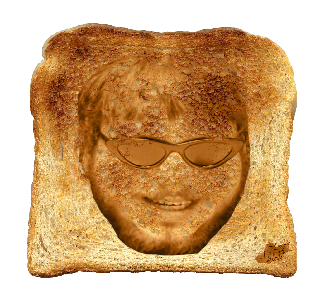 Transparent toast brown. Malone h productions