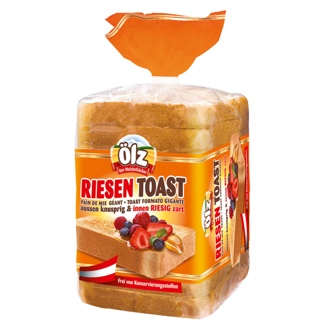 Transparent toast huge. Rudolf lz meisterb cker
