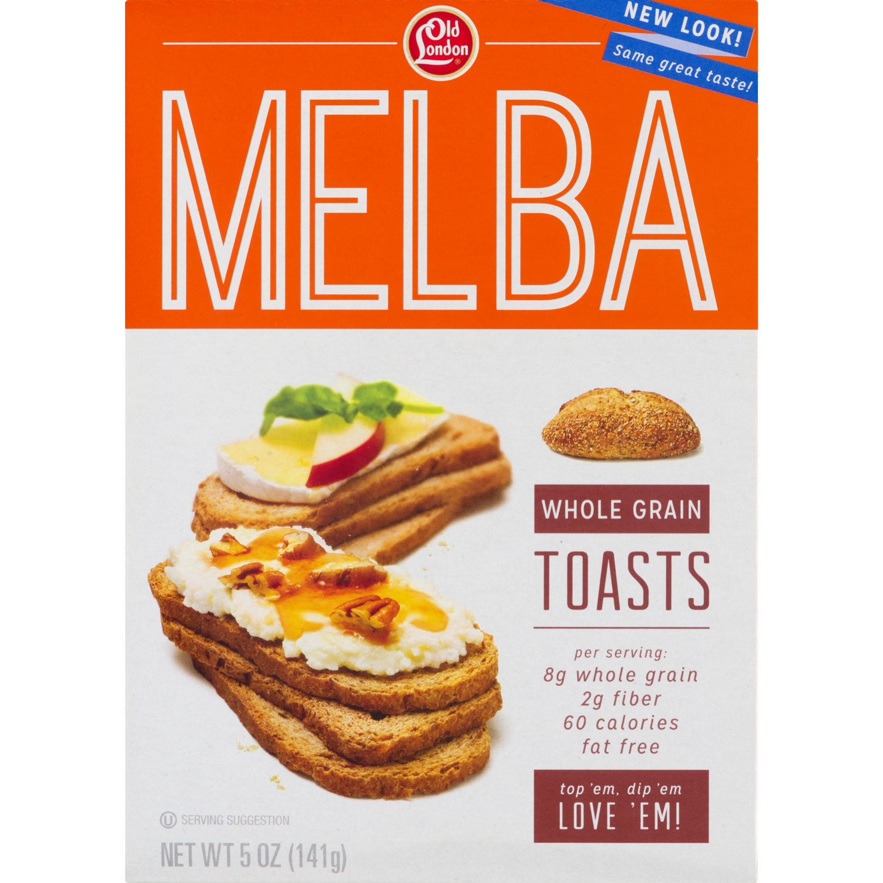 Transparent toast old. London foods melba whole
