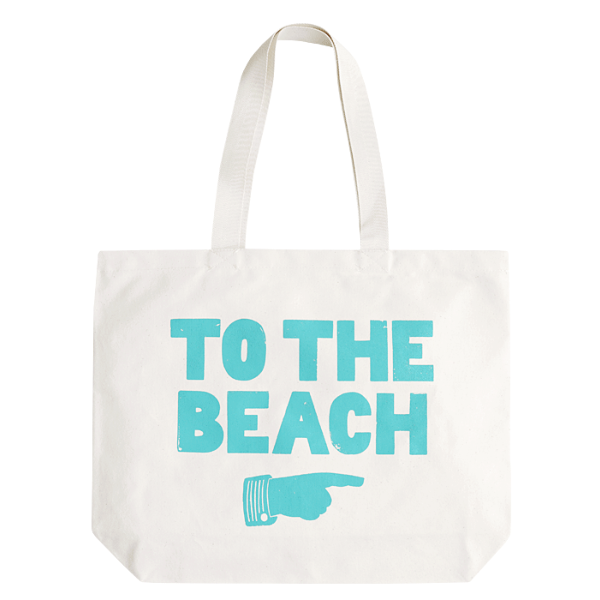 Transparent totes beach. To the house inspiration