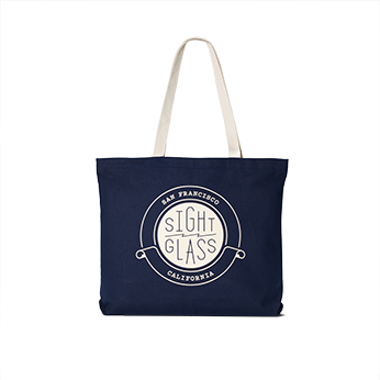 Transparent totes beach. Sightglass crest tote coffee