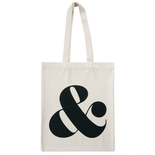 Transparent totes lazy oaf. Ampersand cotton tote bag