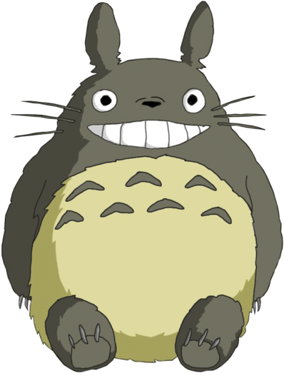 Transparent totoro background. Download png image with