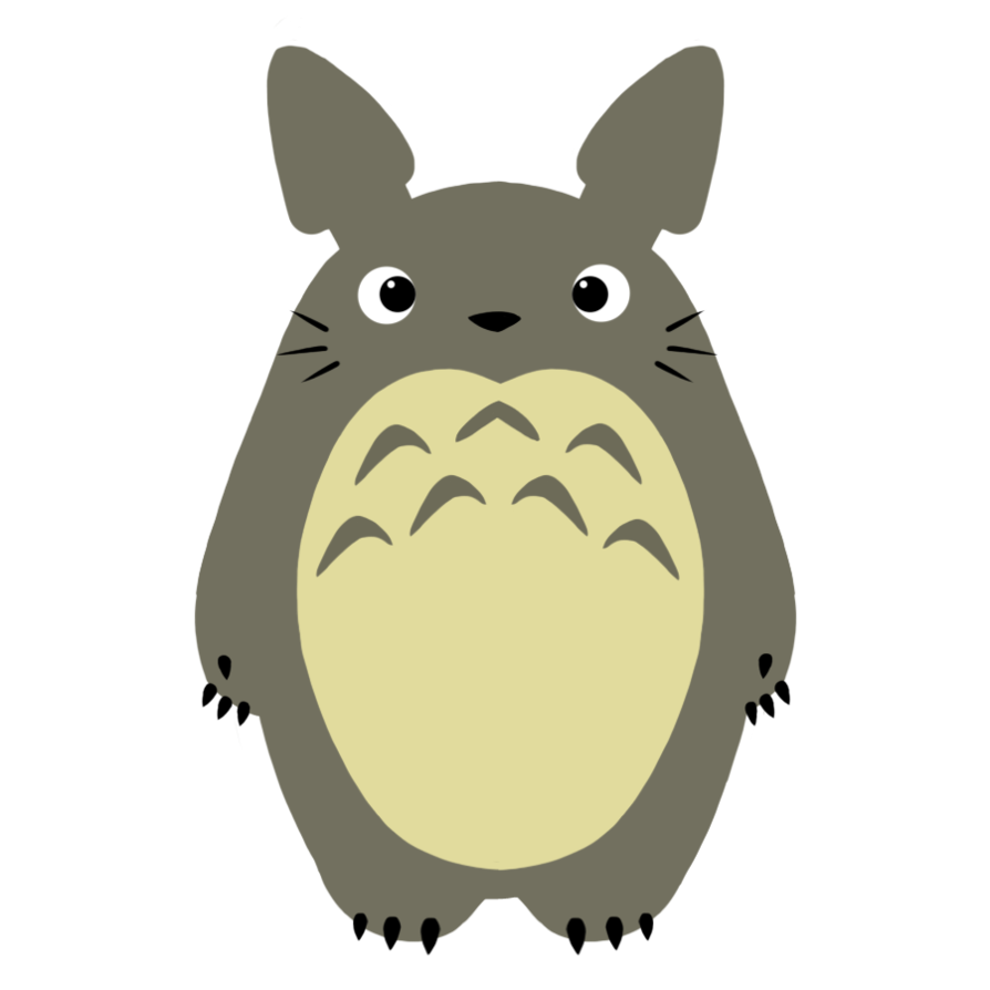 Transparent totoro background. By charlockle on deviantart