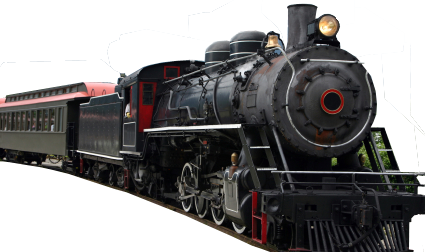 Transparent train background. Steam png hd images