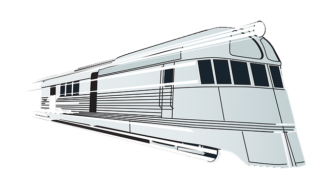Transparent train fast. Trains picture black and