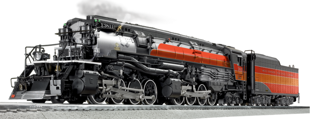 Transparent train lionel. Model specials southern pacific