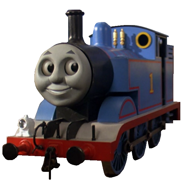 Transparent train thomas and the magic railroad. Version by enginenumber on