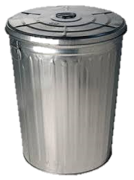 Trash can transparent images. Trashcan png image black and white library