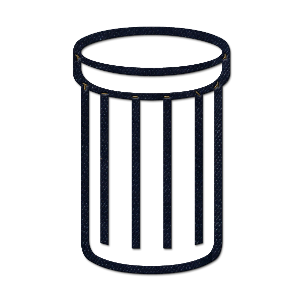 Transparent trash garbage. Can png free images