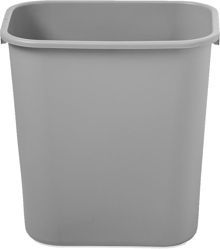 Transparent trash plastics. Can png image purepng