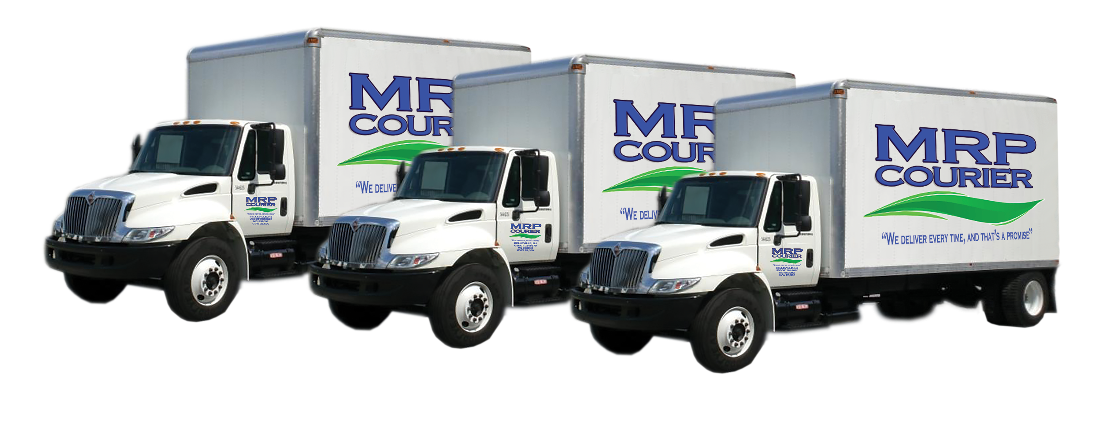 Truck transparent courier. Ourservices mrp trucks