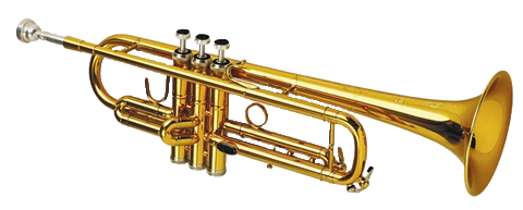 Transparent trumpet band. Join staley is the