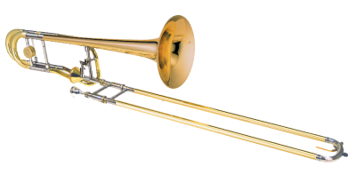 Transparent trumpet brass family. Download band instrument free