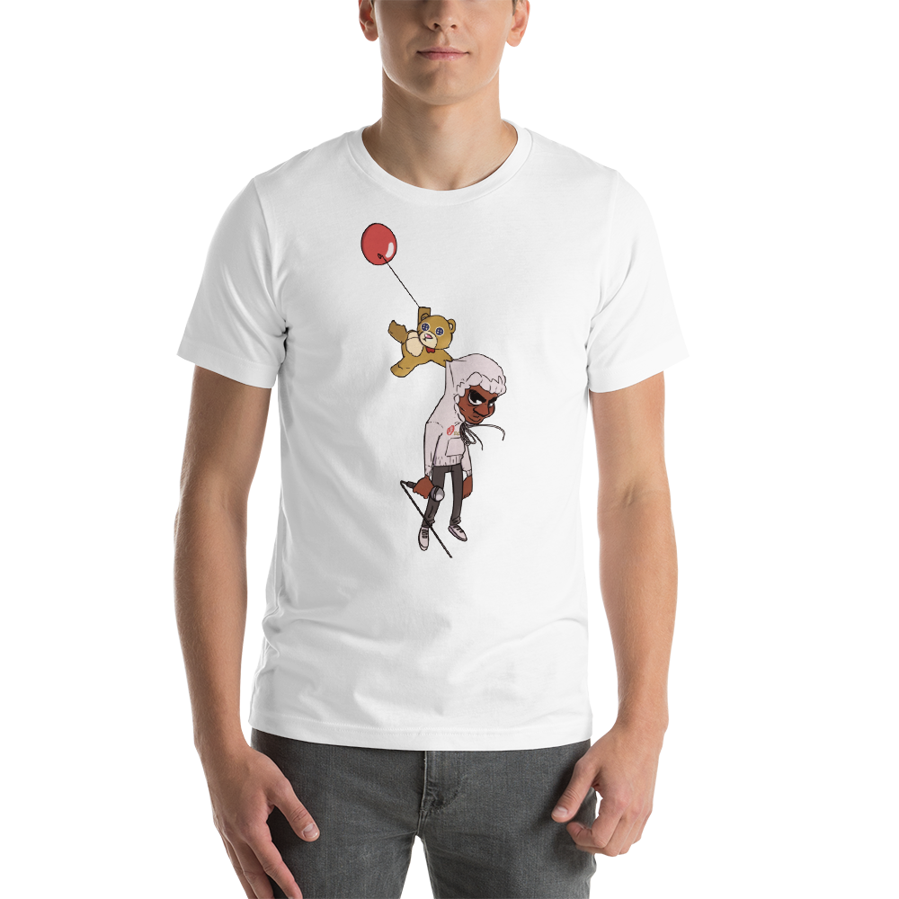 Transparent tshirt animated. Moves cover tee oaobrand