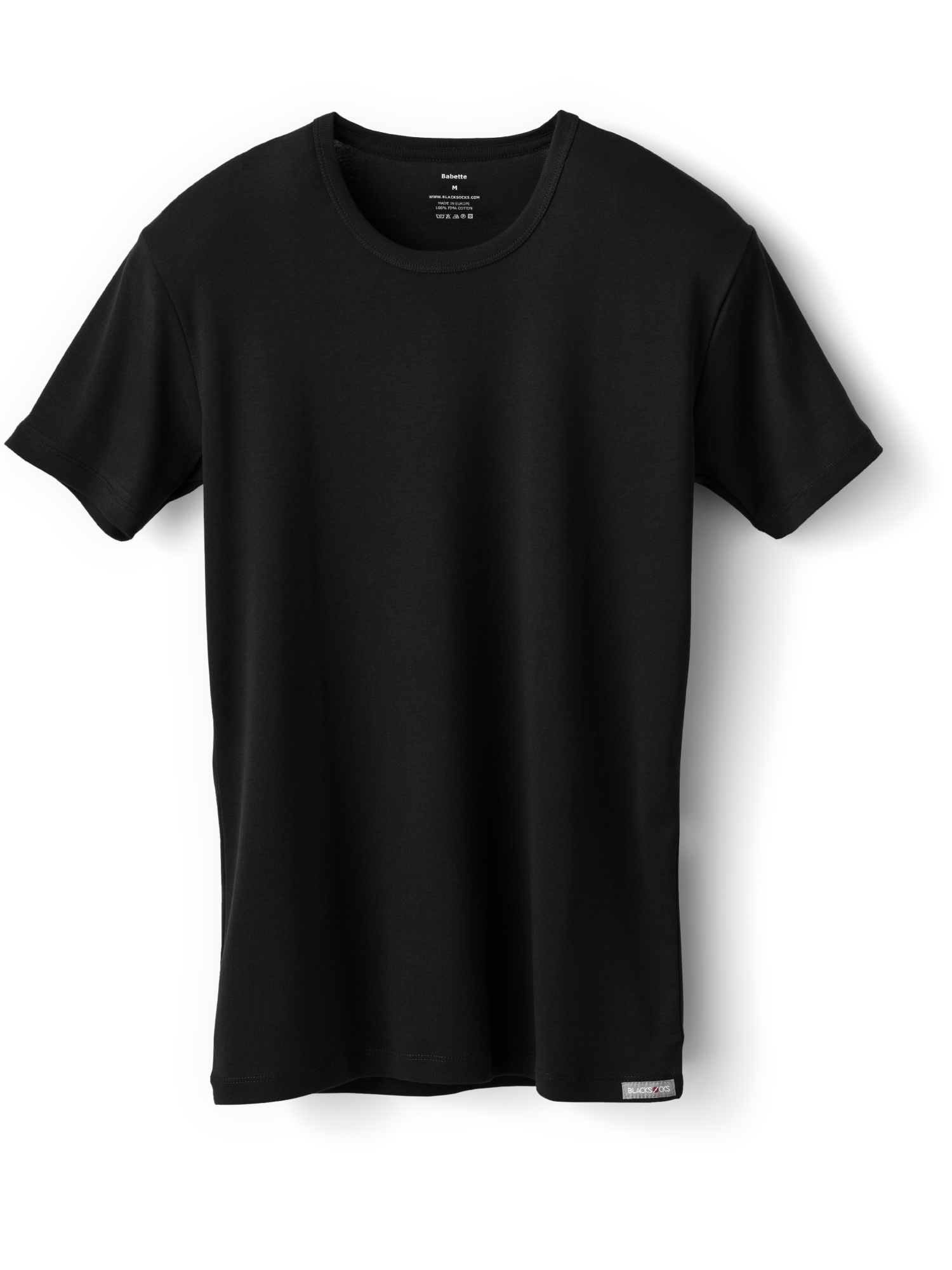 Transparent tshirt blackt. Babette t shirt comfortable