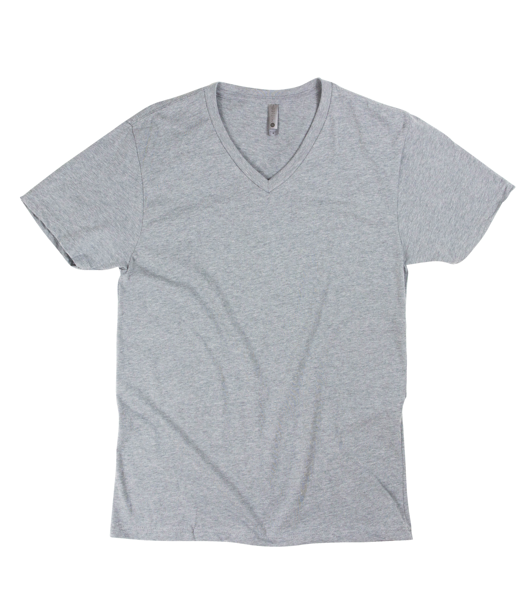 Transparent tshirt v neck. Order next level cvc