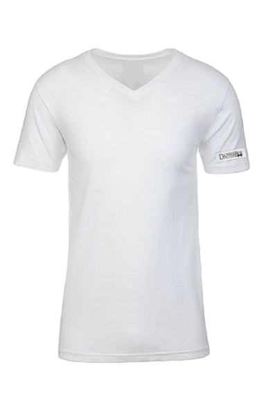 Transparent tshirt v neck. Premium t shirt dapper