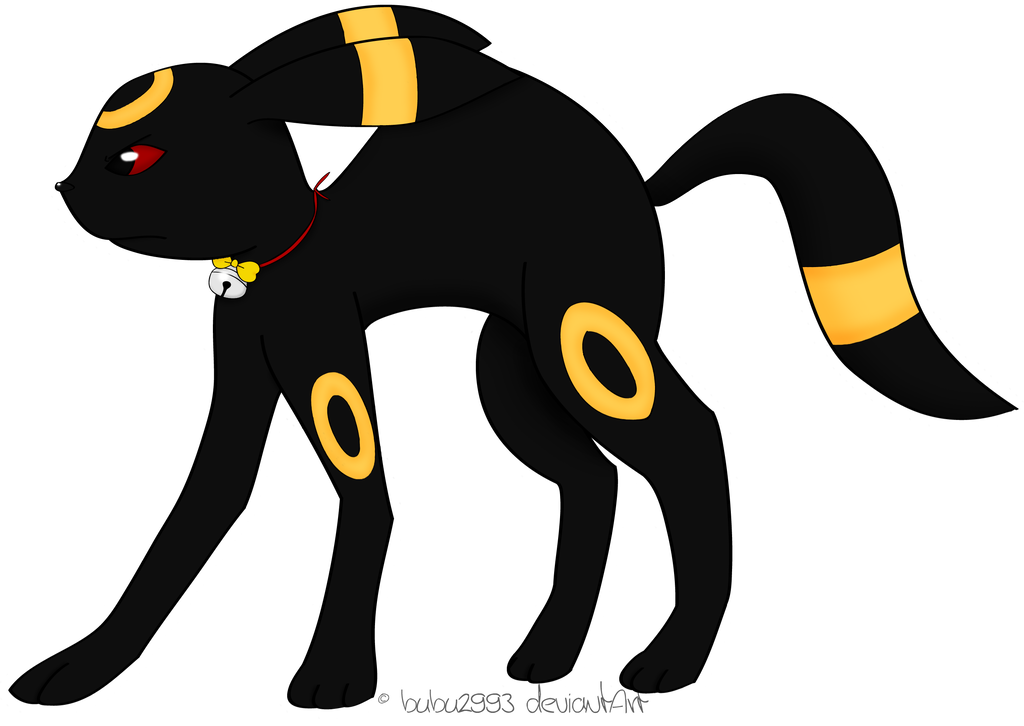 Transparent umbreon small. Angry by bubu on