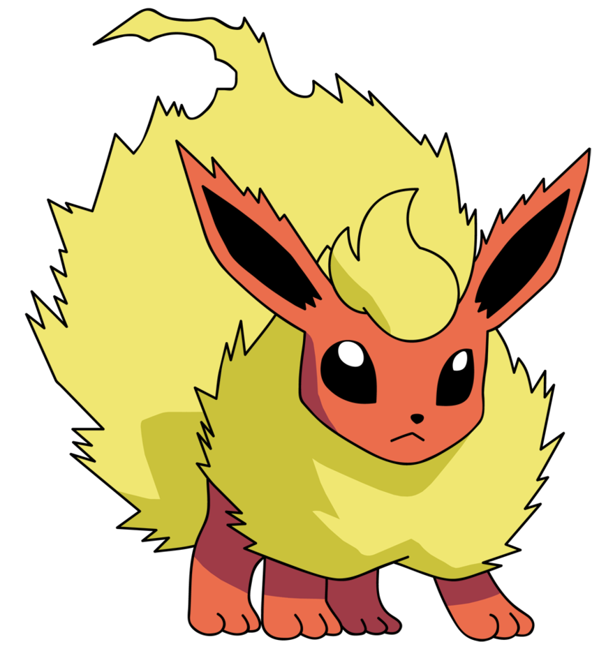 Transparent umbreon jpeg. Flareon by kirkbutler on