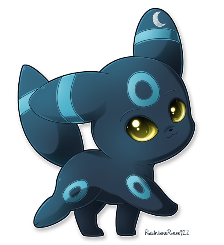 Transparent umbreon small. Bugging selena with shiny