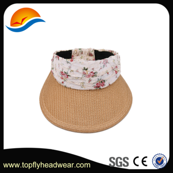 Transparent visor fashion. Designer sun hat paper
