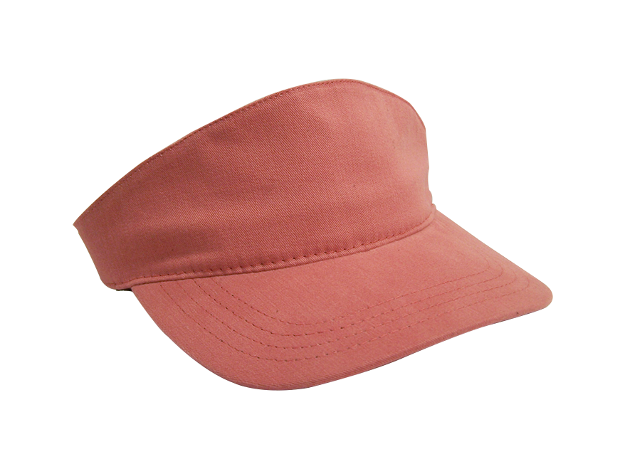 Transparent visor high fashion. Sailor red profile