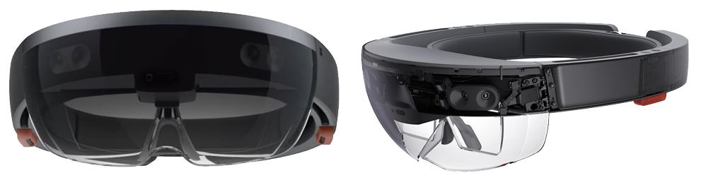 Transparent visors holographic. Microsoft partner vaylian recognized