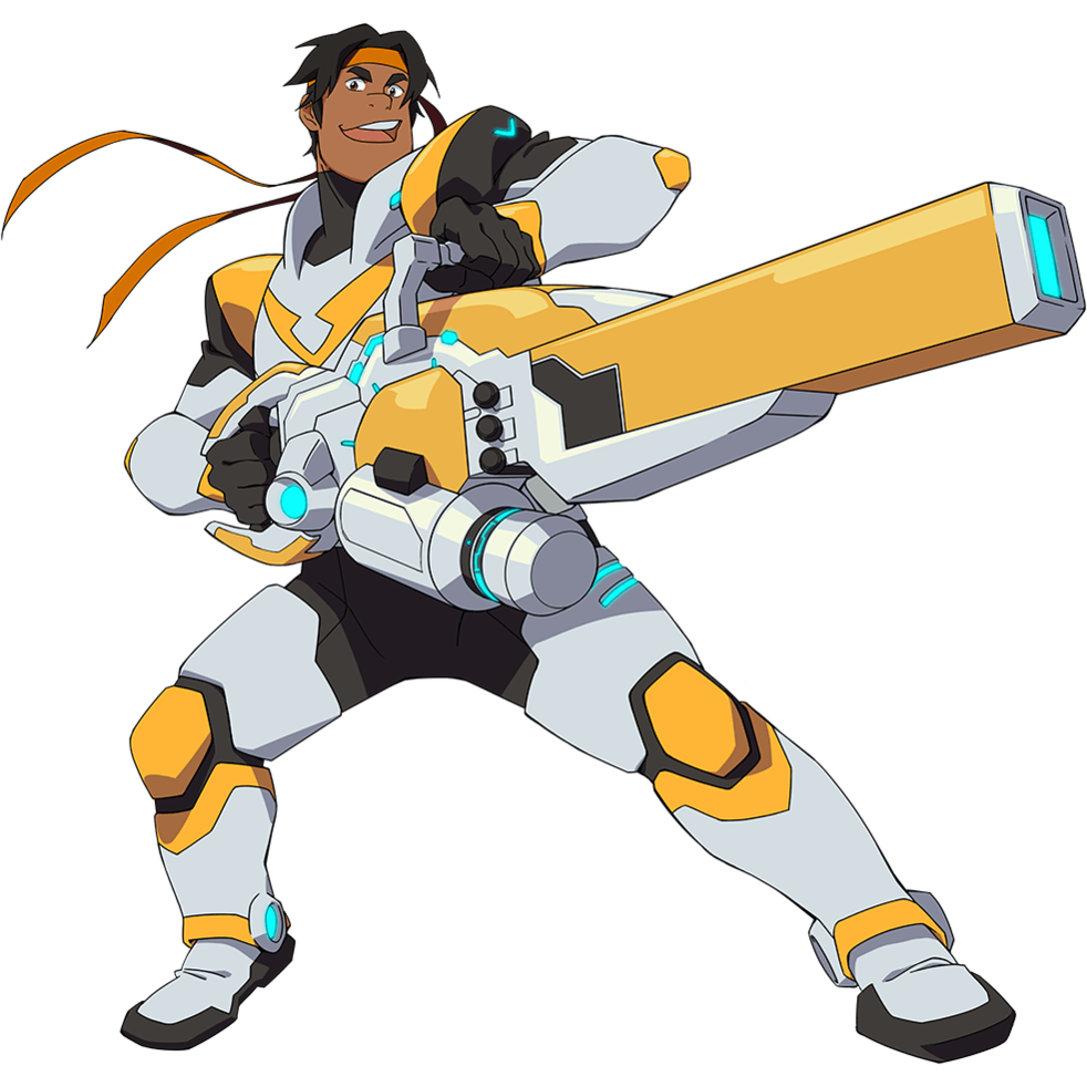 Transparent voltron. Reference the black paladin