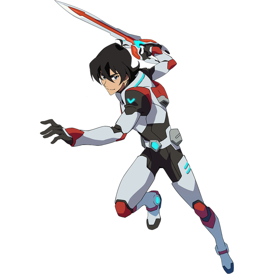 Transparent voltron red paladin